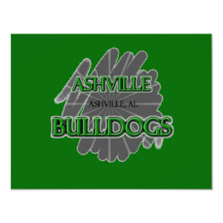 Ashville High School Bulldogs - Ashville, AL Card