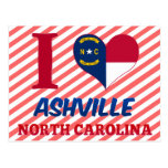 Ashville, North Carolina Postcard