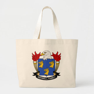 Ashwell Family Crest Tote Bags