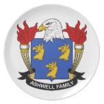 Ashwell Family Crest Dinner Plate