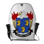 Ashwell Family Crest Messenger Bag