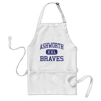 Ashworth Braves Calhoun medio Georgia Delantal
