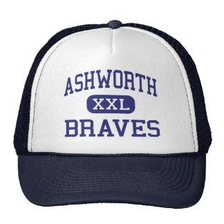 Ashworth Braves Calhoun medio Georgia Gorra
