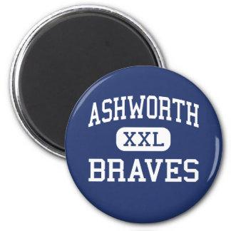Ashworth Braves Calhoun medio Georgia Iman De Frigorífico