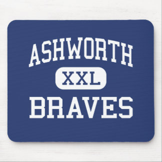 Ashworth Braves Calhoun medio Georgia Tapetes De Raton