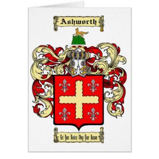 Ashworth Card