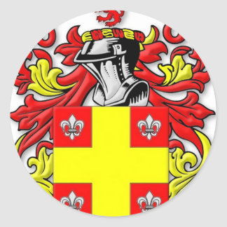 Ashworth Coat of Arms Classic Round Sticker