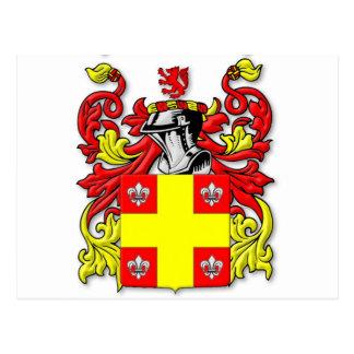 Ashworth Coat of Arms Postcard