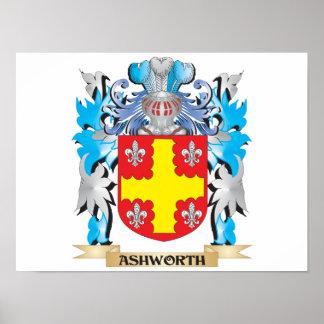 Ashworth Coat Of Arms Posters