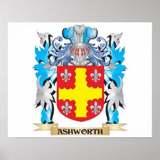 Ashworth Coat Of Arms Poster