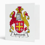 Ashworth Family Crest Binders