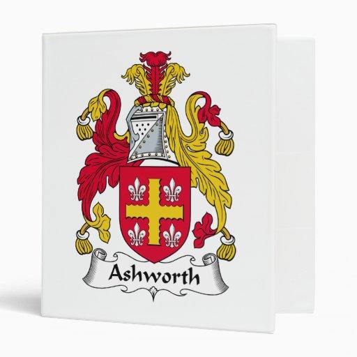 Ashworth Family Crest Binders