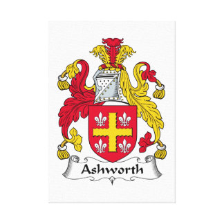 Ashworth Family Crest Canvas Print