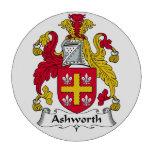 Ashworth Family Crest Set Of Poker Chips