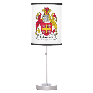 Ashworth Family Crest Table Lamp