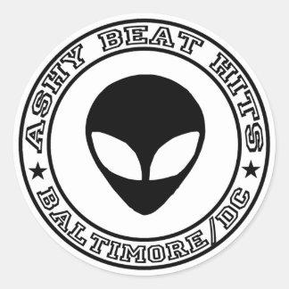 Ashy Beat Hits ALIEN sticker