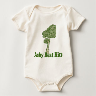 Ashy Beat Hits GREET TREE  for BABIES Baby Bodysuits