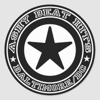 Ashy Beat Hits STAR sticker