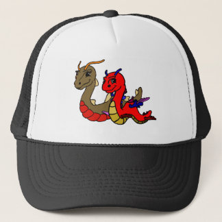 Asi and Ori together. Trucker Hat