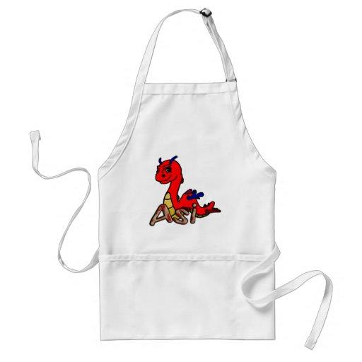 Asi (with name) apron