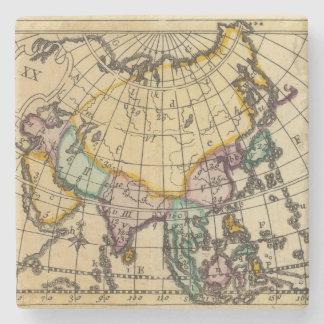 Asia 11 posavasos de piedra