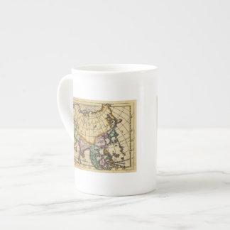 Asia 11 taza de porcelana