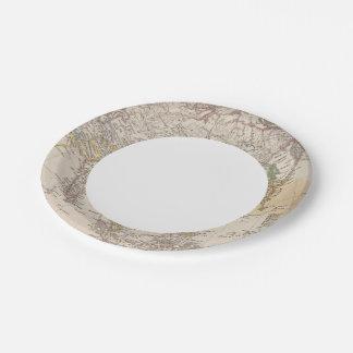 Asia 13 platos de papel