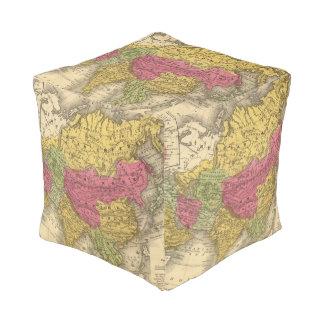 Asia 14 cube pouf