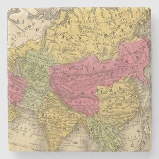Asia 14 posavasos de piedra