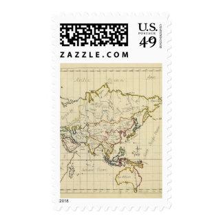Asia 15 postage