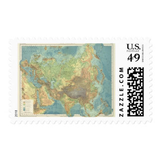 Asia 18 postage stamp