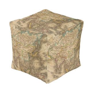 Asia 19 cube pouf
