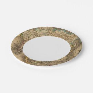 Asia 19 platos de papel