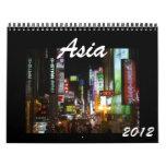 asia 2012 calendar