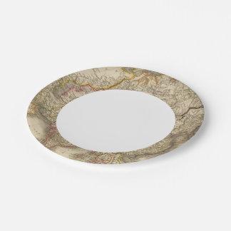 Asia 21 platos de papel