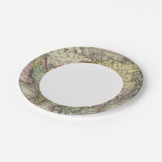 Asia 22 2 platos de papel
