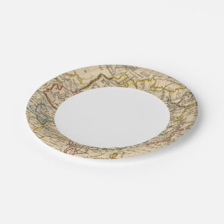 Asia 22 platos de papel