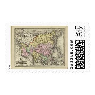 Asia 22 postage