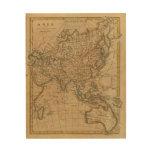 Asia 24 cuadro de madera
