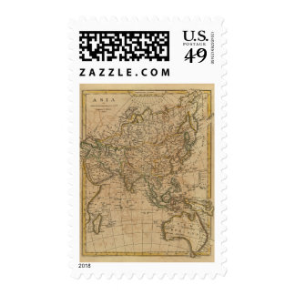 Asia 24 postage stamp