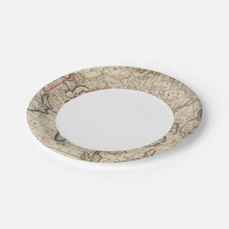 Asia 26 platos de papel