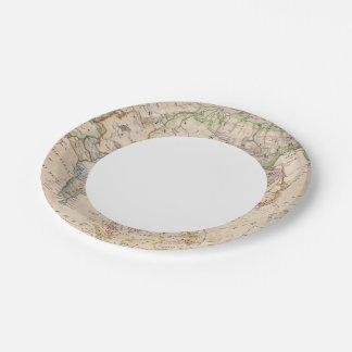 Asia 27 2 platos de papel