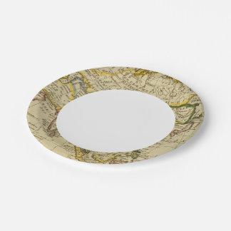 Asia 27 platos de papel