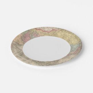 Asia 28 platos de papel