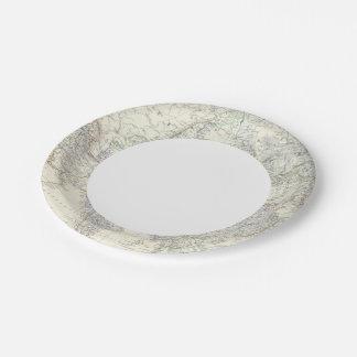 Asia 2 2 platos de papel