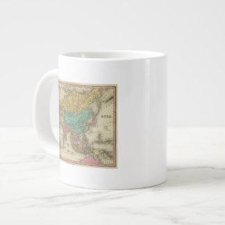 Asia 2 large coffee mug