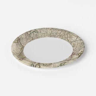 Asia 30 platos de papel