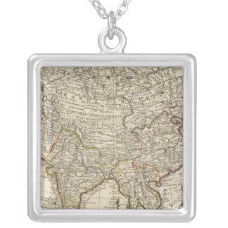 Asia 30 square pendant necklace