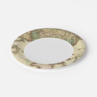 Asia 32 platos de papel