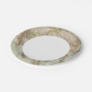 Asia 33 platos de papel